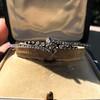 Victorian Rose Cut Diamond Bangle 19