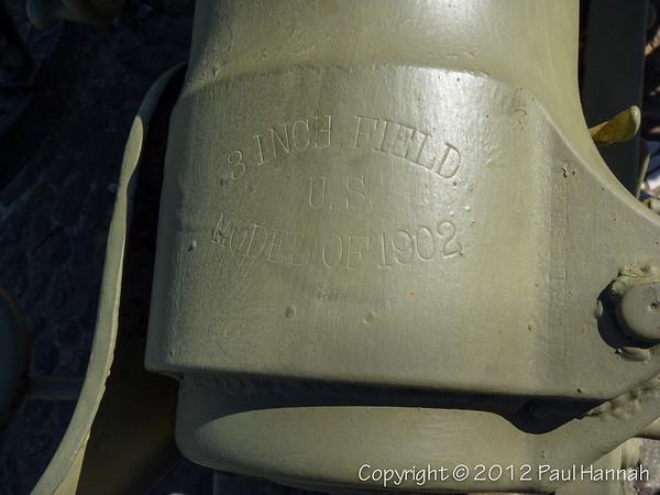"Cpl Henry Bourbeau Memorial - 3"" Gun - New Bedford, MA"
