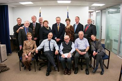 Coalition Visits Senator Schumer