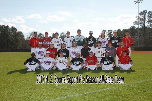 2017 H. S. Sports Report Pre Season All-State Team Boys