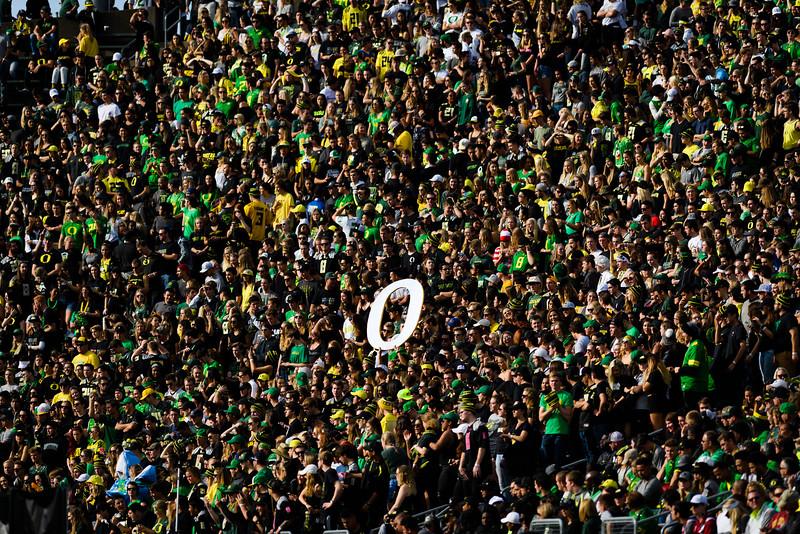 The Arizona State Sun Devils face the Oregon Ducks at Autzen Stadium in Eugene, Oregon on October 29, 2016. (Michael Arellano/DieHard Devil)