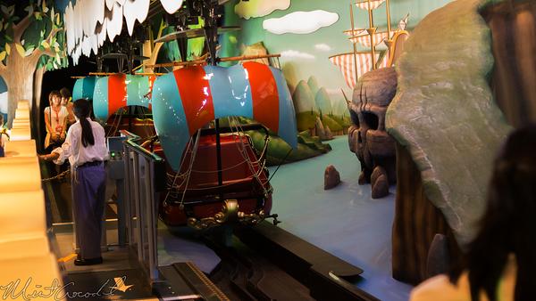Disneyland Resort, Tokyo Disneyland, Fantasyland, Peter Pan's Flight, Peter Pan, Peter, Pan, Flight