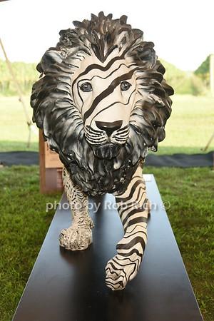 The U.S. Tusk Lion Trail Auction & Hamptons Soiree'  honoring Donna Karan at Wolffer Estate in Sagaponack on 8-27-21.