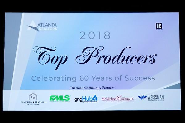 2018 Top Producers Atlanta Realtors Assn