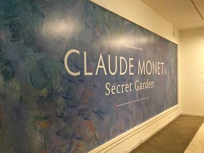 Claude Monet - Secret Garden Exhibit