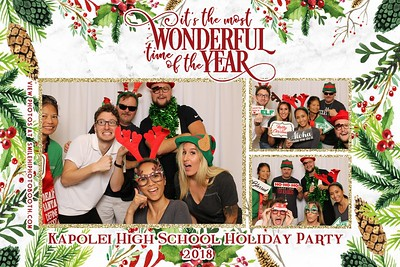 Khs Holiday staff party 2018