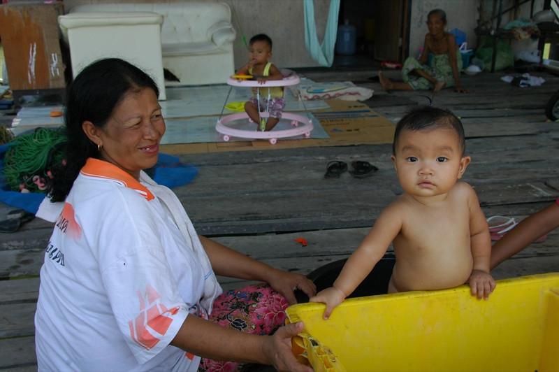 Mother and Child - Phang Nga, Thailand.