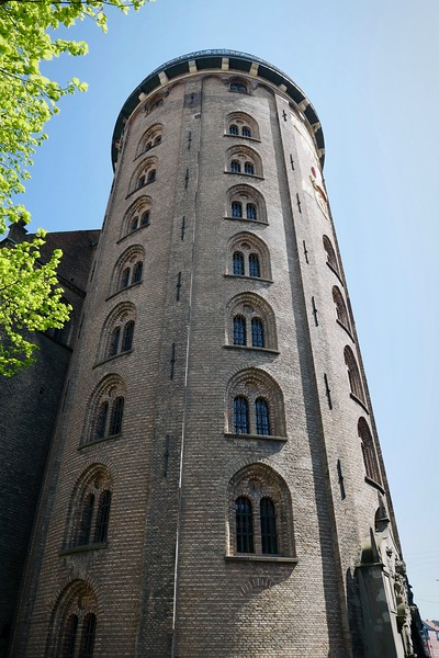 Round Tower, going up this time