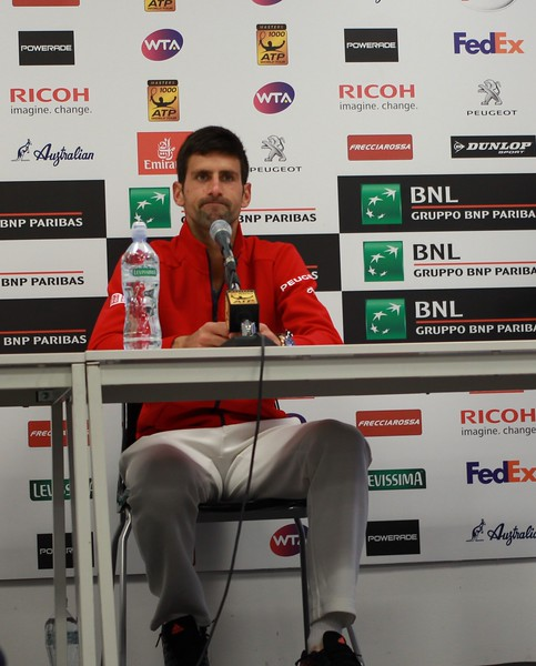 Novak Disappointed