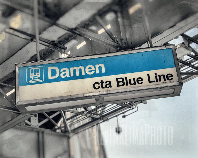 Damen - CTA Blue Line