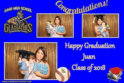 Juan's Grad Party 2018