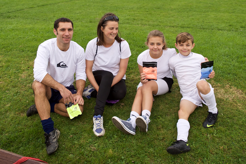 Family Group before the run