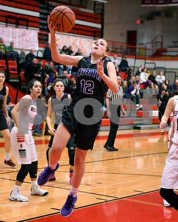 Downers Grove North girls basketball vs Hinsdale Central