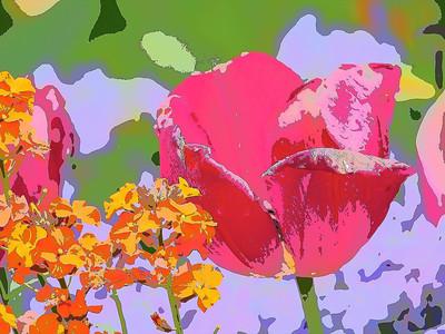 Impressionistic Flowers