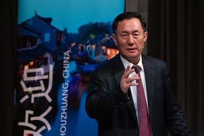 Honorable Chinese Ambassador to Switzerland Geng Wenbing