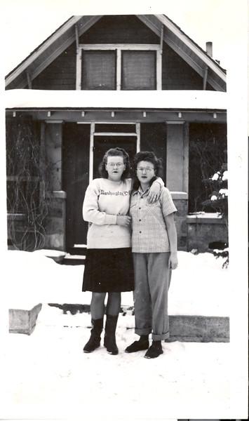 Verdella and Dolores Olson