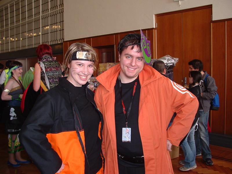 Naruto and Jing