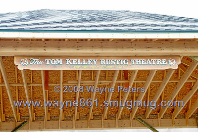 Tom Kelly Rustic Theater Dedication