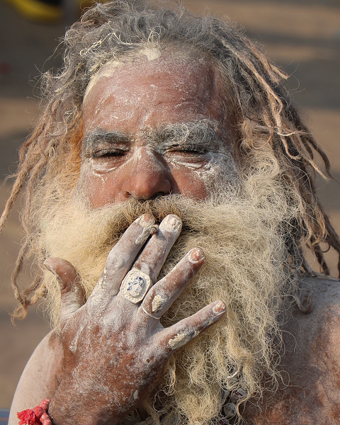 A different kind of Sadhu, he wanted to connect with me, but I.... not so much...