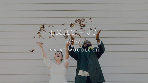 EMILY + JT ////// INN AT WOODLOCH