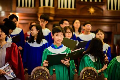 Church Service - Teacher Dedication
