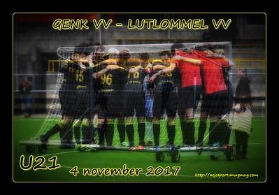 Genk VV - Lutlommel VV  U21  04/11/2017
