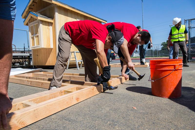 Tiny House Build Day WellsFargo Woodcreek Whitney Oakmont 2018-49.jpg