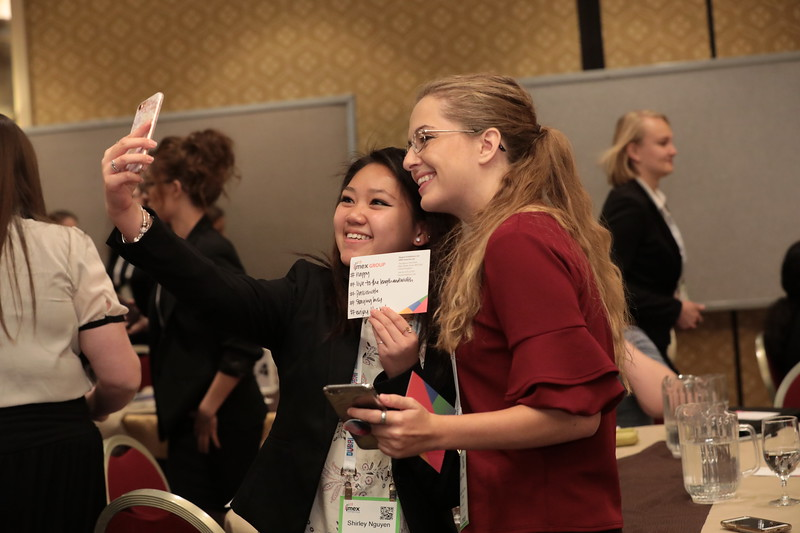 #Happy Students at the Future Leaders Forum