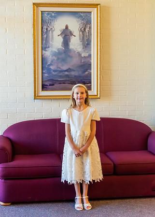 2018-11-03 Ayla Enloe Baptism