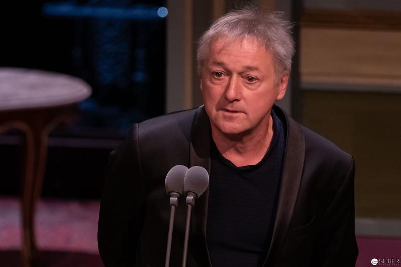 Markus Hering - Nestroy Verleihung 2018