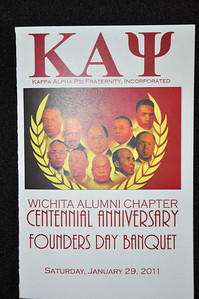Kappa Alpha Psi Inc Founders Day Banquet Jan 29, 2011