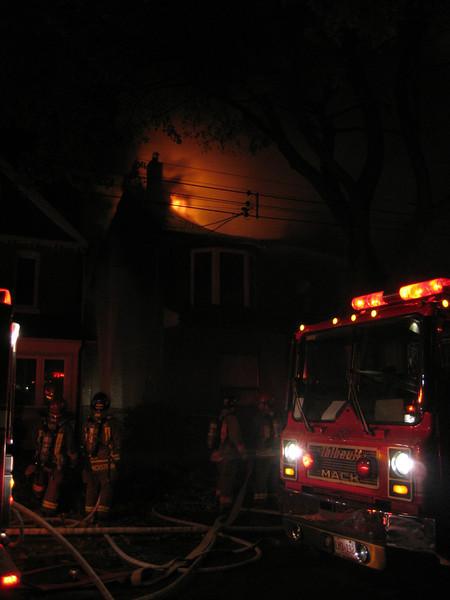 October 24, 2006 - 3rd Alarm - Muir Street