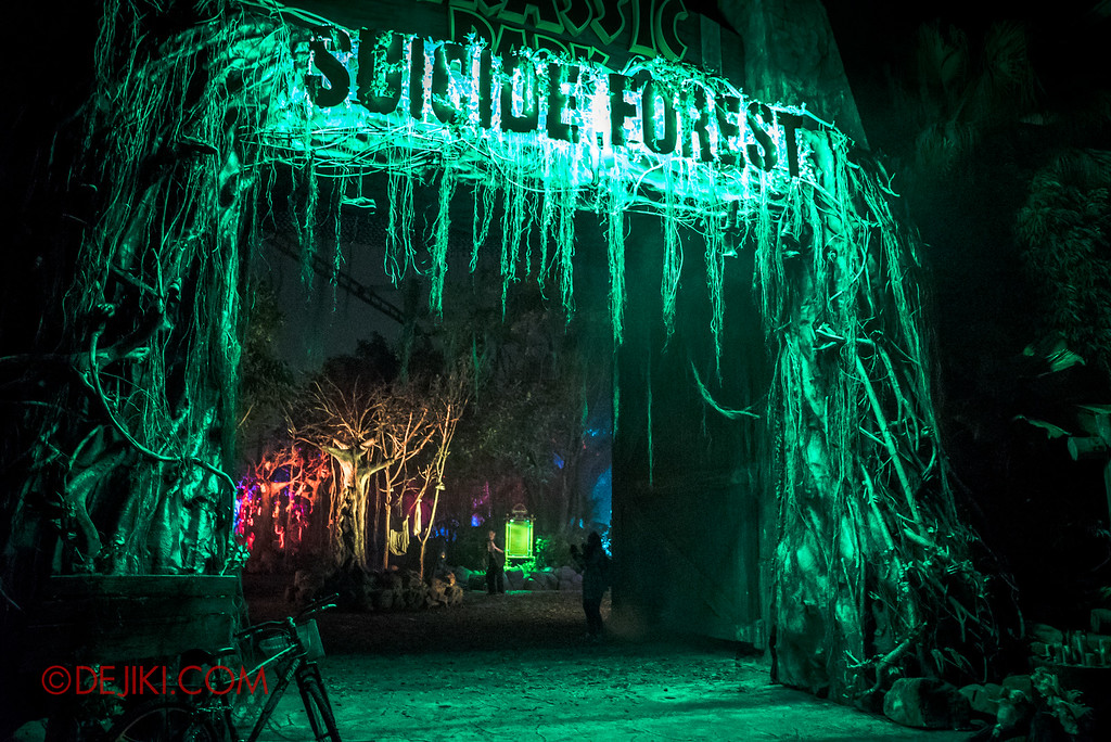 Halloween Horror Nights 6 - Suicide Forest / The Entrance