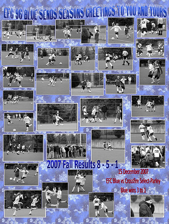 15 december 07 vs Crossfire Select Parley w 3 to 1