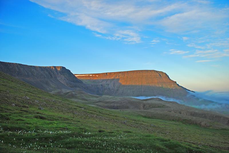 Kistufell - við förum á það við tækifæri.