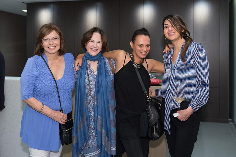 María Elena Prio, Tina Salvesen, Irena Gapkovska, Andrea Santana