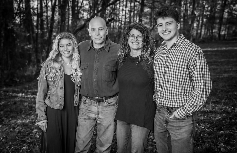 Singleton Family B&W