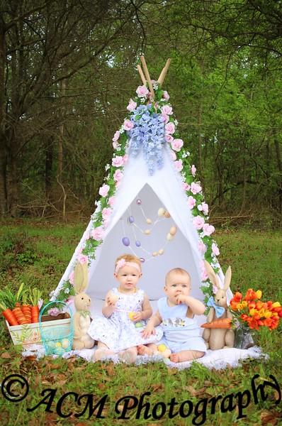 Allie & Sullivan Easter 19