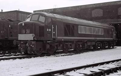 Leeds Holbeck shed (55A), 1967