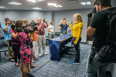 32384 Ginny Thrasher Rifle Press Conference
