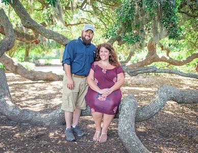 Nikki and Josh, engaged.