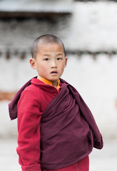 Child Monk Portrait