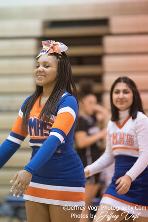 12/08/2017 Watkins Mill HS Varsity Cheerleading, Photos by Jeffrey Vogt Photography