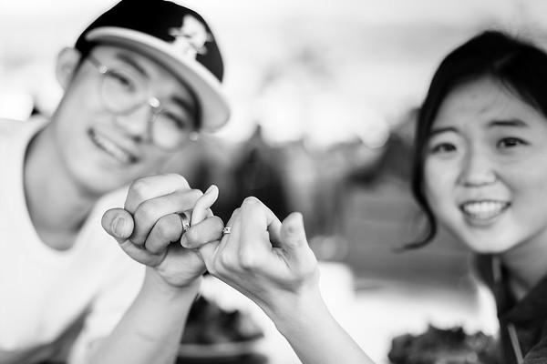 Myoung Suk Kim - black+white photos