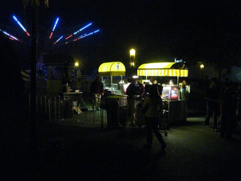 Mini Doughtnut and Bavarian Nut carts.