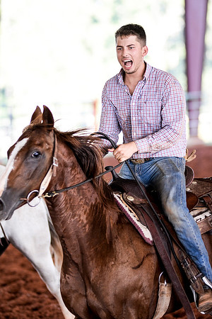 September 12, 2020 - Trent at Shadow Rock Arena Ranch Rodeo