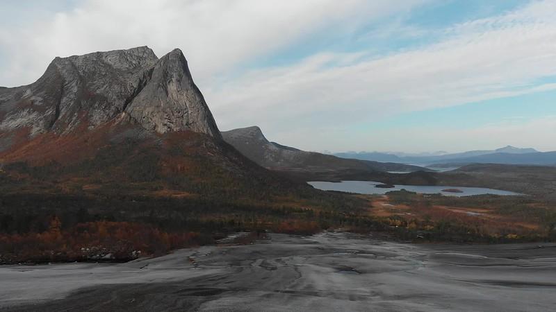 Stockvideo Mountain Landscape & Fjords