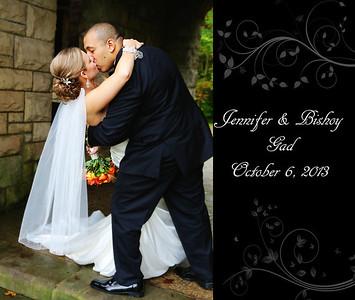 Jennifer & Bishoy 13x11 Wedding Album