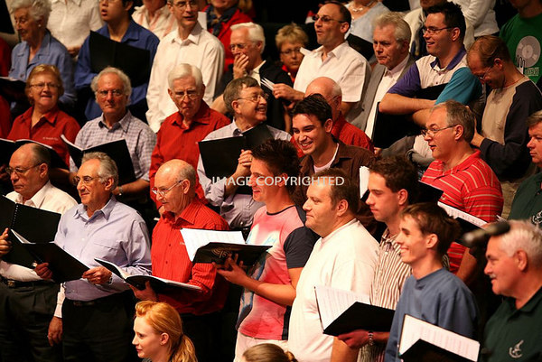 Rehearsal - British Pomp and Circumstance - Sydney Town Hall - October 28, 2006.