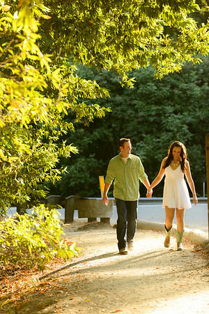 Alexis and Zach (Engagement Photography) @ Henry Cowell State Park, Felton, California